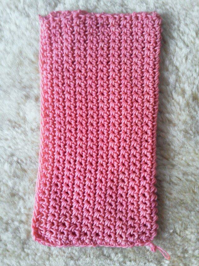 携帯電話カバー / crochet phone coverの画像1枚目