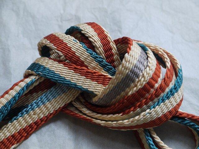手組み正絹組紐【手綱(3色)】106A017026の画像1枚目