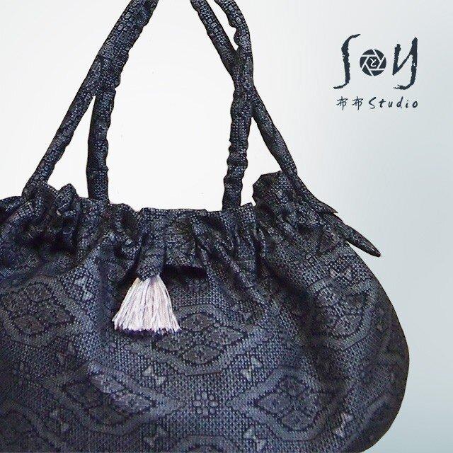 大島紬2WAYバッグ【1点もの】の画像1枚目