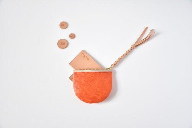 suzumeno pouch(orange)の画像1枚目