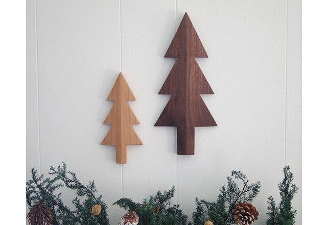 *大人のクリスマス* もみの木の壁飾り 2個セット(A)の画像1枚目