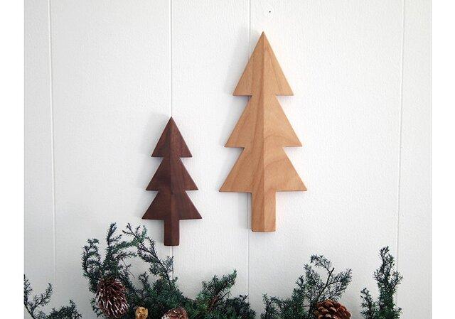 *大人のクリスマス* もみの木の壁飾り 2個セット(B)の画像1枚目