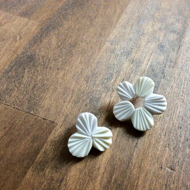 ohana pierce/earring【ガラスピアス】【ガラスイヤリング】の画像1枚目