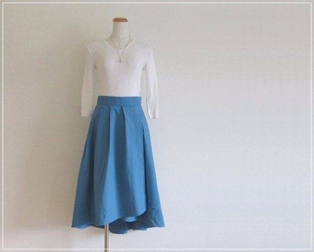blue* フィッシュテールラップスカートの画像1枚目