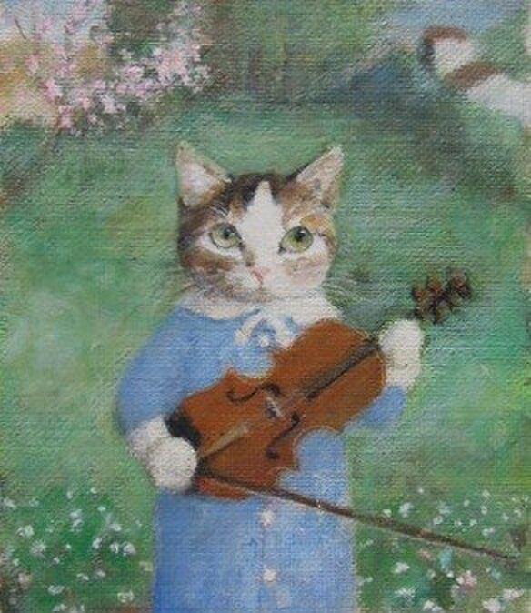 バイオリン・早春(K.K様売約済みです。)の画像1枚目