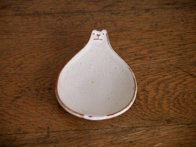 シロクマの豆皿 2枚組の画像1枚目
