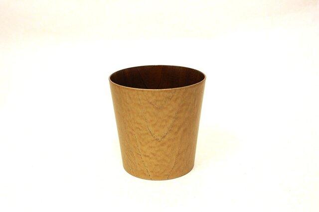 うつろいカップ シャンパンゴールド拭漆 Lの画像1枚目
