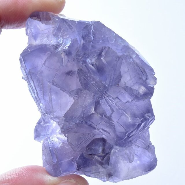 フローライト(蛍石) カラーチェンジ パキスタン・バローチスターン州産 84g/ 鉱物・原石の画像1枚目