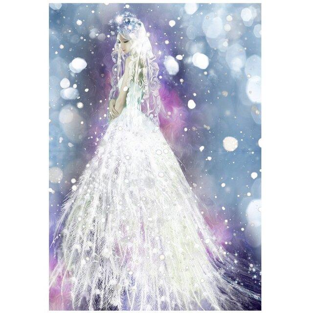 雪の妖精スネグーラチカ【A3サイズ】の画像1枚目