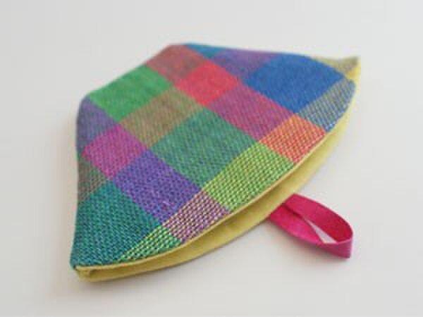 リネン手織り コーヒーフィルターケースの画像1枚目