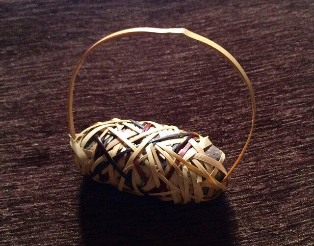 ペーパーウェイト stone basket【3】の画像1枚目