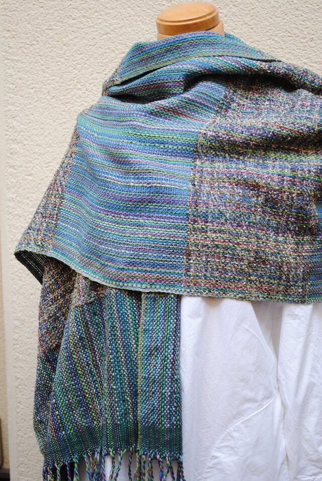 手織シルクストールの画像1枚目