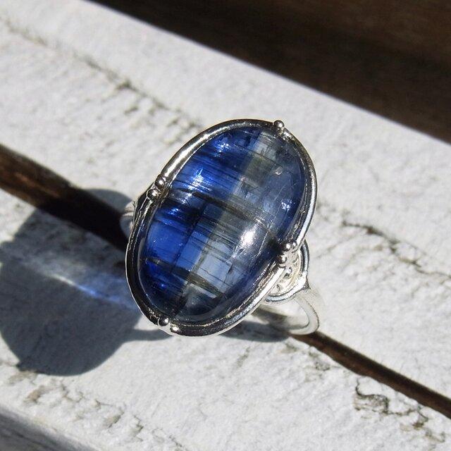 カイヤナイト Kyanite Ringの画像1枚目