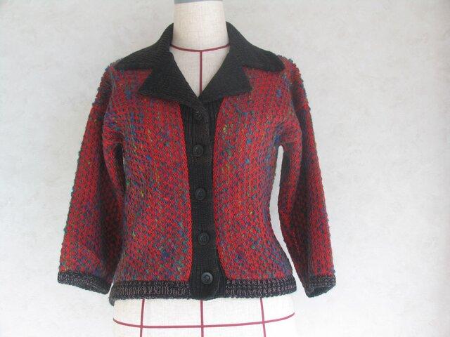 《値下げしました》テーラードカラーの7分袖ジャケットの画像1枚目