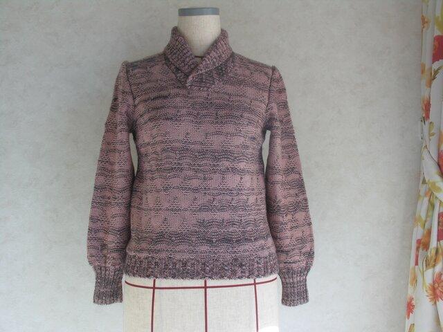 ヘチマの衿セーターの画像1枚目