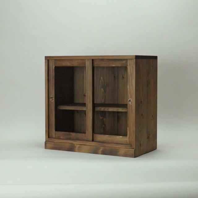 小さな戸棚 ミニキャビネット 昭和レトロの雰囲気の画像1枚目