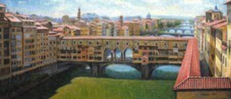 ウフィッツィ美術館からの絶景の画像1枚目