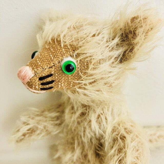 シャトン・トフィー 子猫のぬいぐるみ クリスマスギフト ねこ X'masの画像1枚目