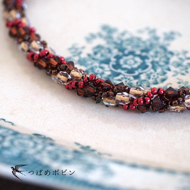 ジュエリークロッシェの羽織紐◎BRL002【送料無料】の画像1枚目