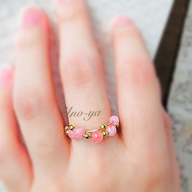 妖精のリング♡ピンクジェイドの画像1枚目