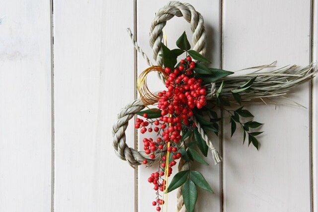 南天のお正月飾りの画像1枚目