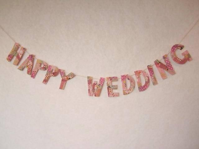 結婚式のためのガーランドの画像1枚目