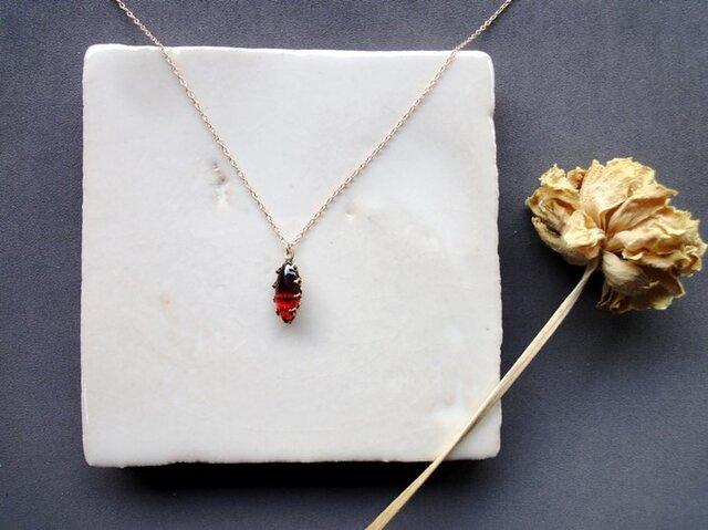 Vintage Stone Necklace■Dragon Breath■N15の画像1枚目