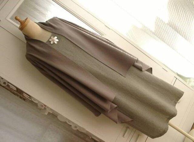 【型紙】簡単!ストール風カーデ&ジレ(ベスト)の画像1枚目