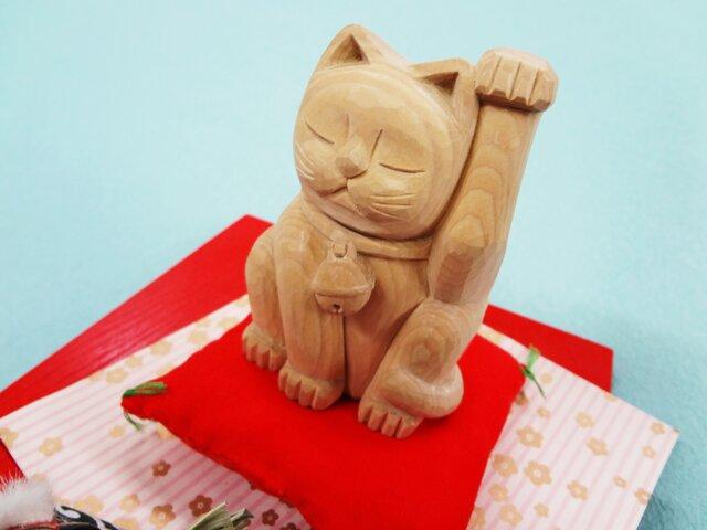 新年の夢に寄り添う「招き猫」M-15の画像1枚目