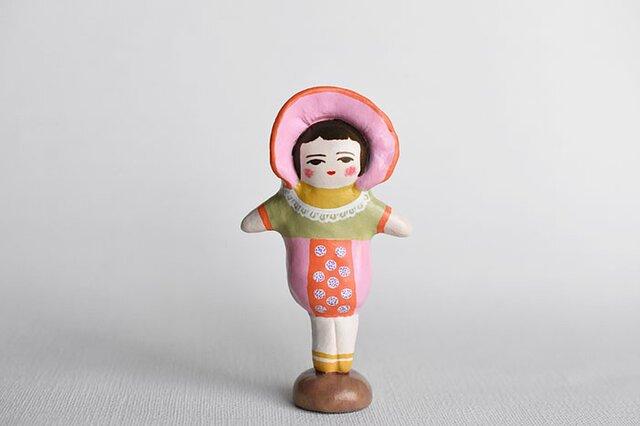 文化人形らしきひと(ピンクボンネット)の画像1枚目