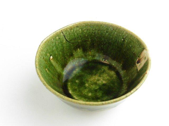 織部 鉄絵飯碗⑤の画像1枚目