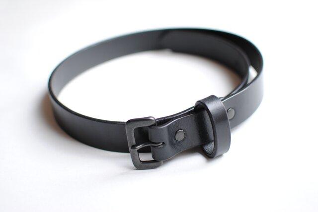 ミリタリーベルト(幅30mm・all black)の画像1枚目