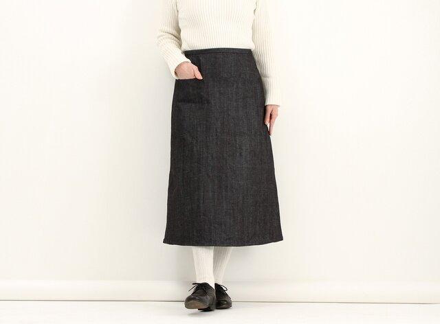 デニムシンプルスカート#171の画像1枚目
