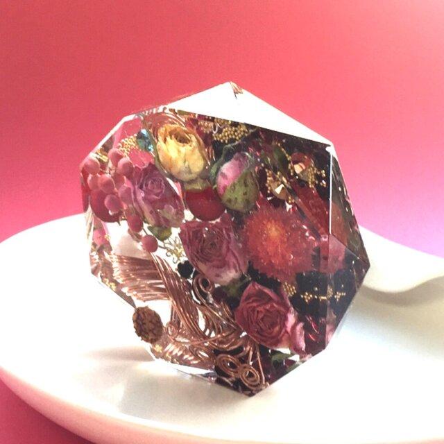 コースター型 幸運 オルゴナイト の画像1枚目