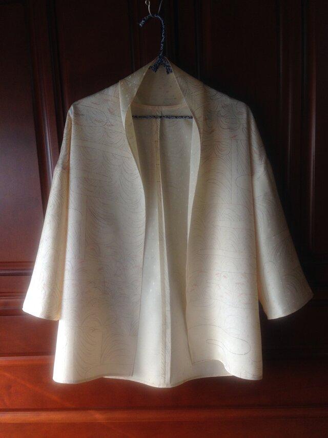 正絹着物地単衣ジャケットの画像1枚目