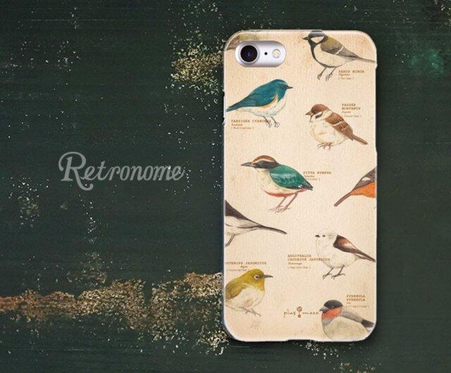 野鳥柄のiPhoneハードケースの画像1枚目