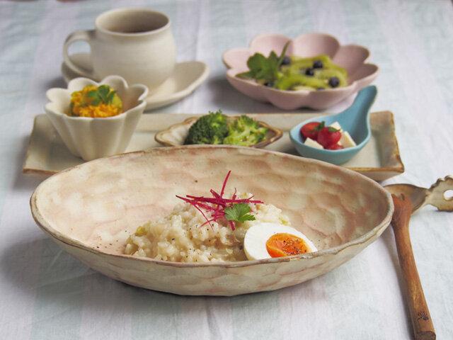 粉福楕円皿-pasta-の画像1枚目