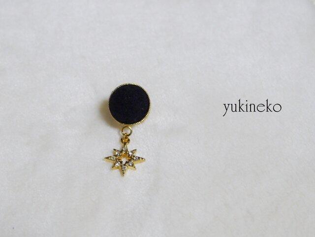 アロマブローチ(ピンズ)金の星の画像1枚目