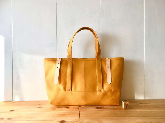 【受注製作】黄色の鞄の画像1枚目