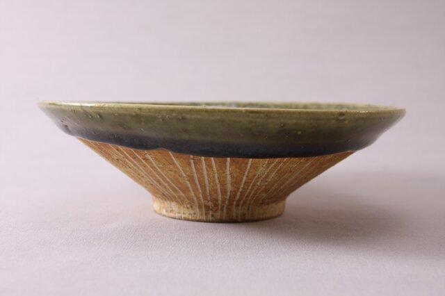 浅鉢(中)‐ori茶-の画像1枚目