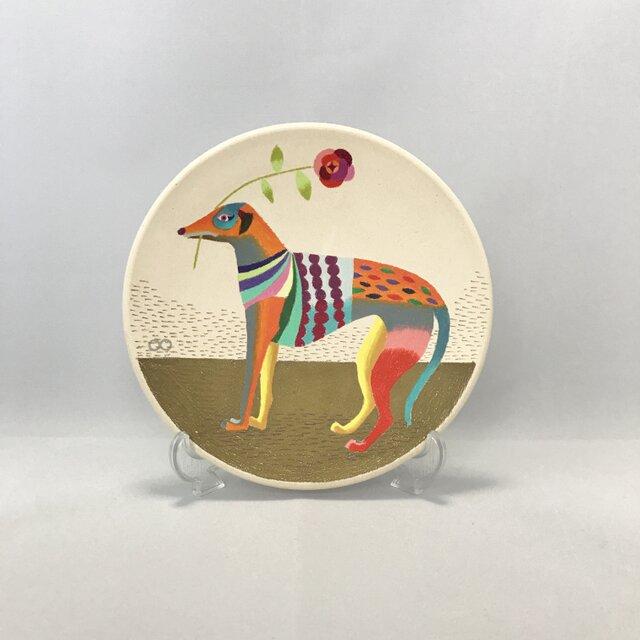 色鉛筆イラスト「Dog」の画像1枚目