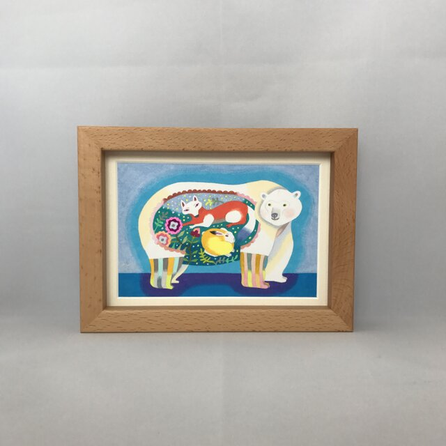 色鉛筆イラスト「シュガー」の画像1枚目