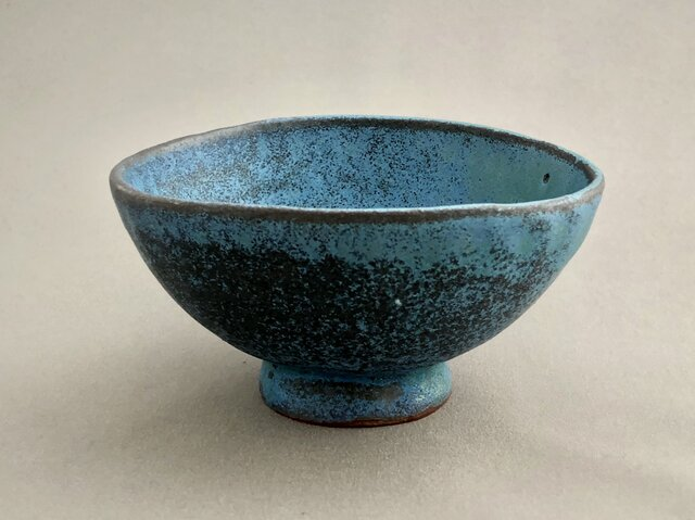 トルコ釉飯碗の画像1枚目
