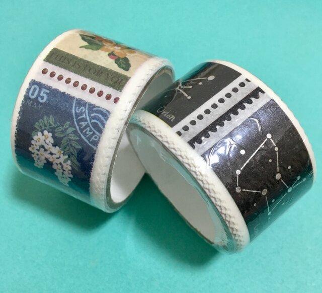 切手みたいにcutできるmaskingtape 2set+1の画像1枚目