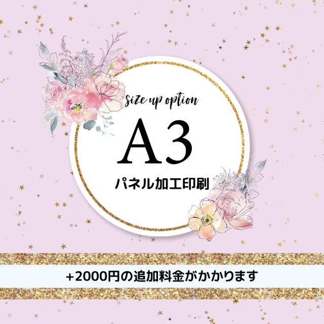 【オプション】A3パネル加工印刷の画像1枚目