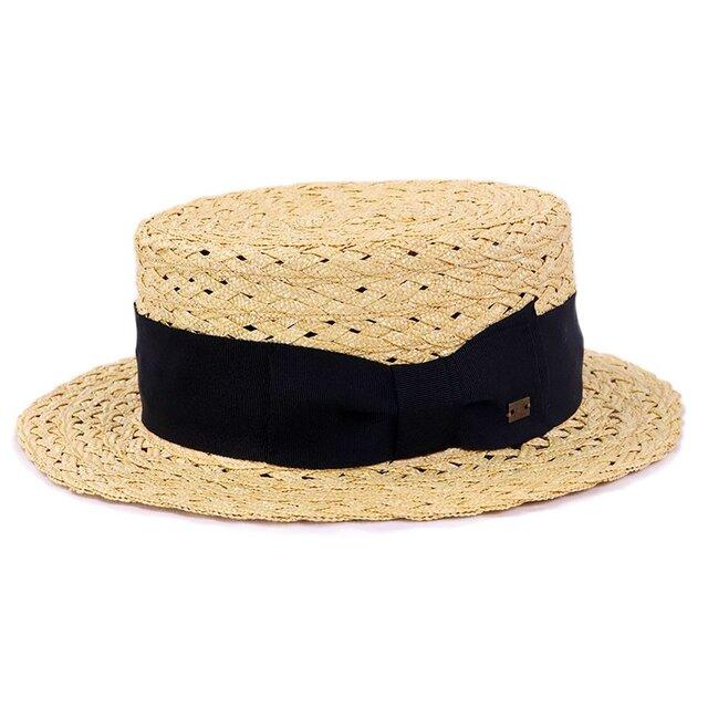 GISELe掲載!5組みの麦ブレードカンカン帽M ナチュラル(18SSS-018)の画像1枚目