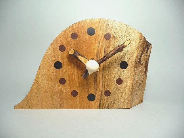山桜の針のお木時計の画像1枚目
