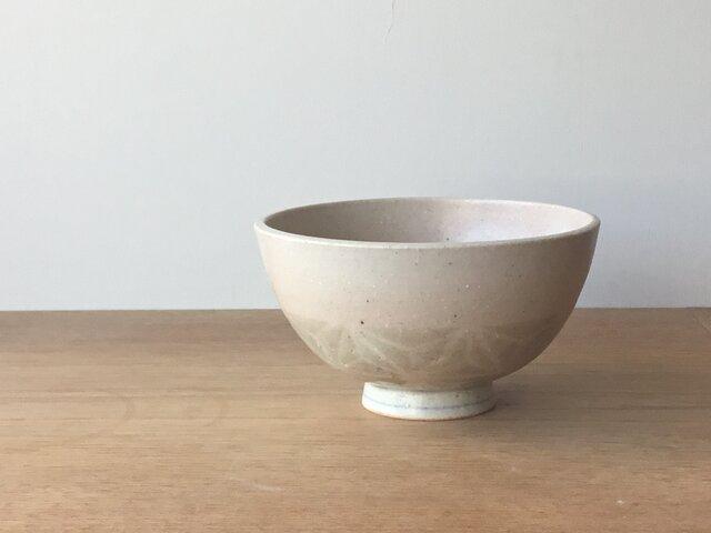 茶碗 釉彩麻紋の画像1枚目