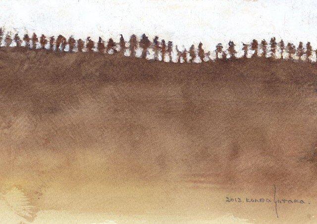 山並み (額縁付き)の画像1枚目