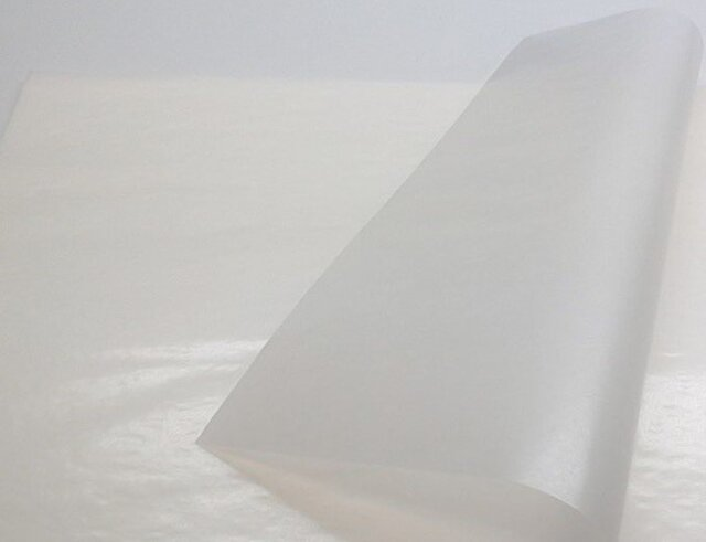 薬包紙(パラフィン) 220×220mm/50枚入りの画像1枚目